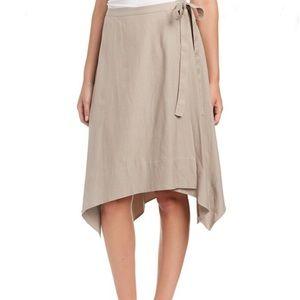 NWT BCBG MAXAZRIA Claire Wrap Handkerchief Skirt